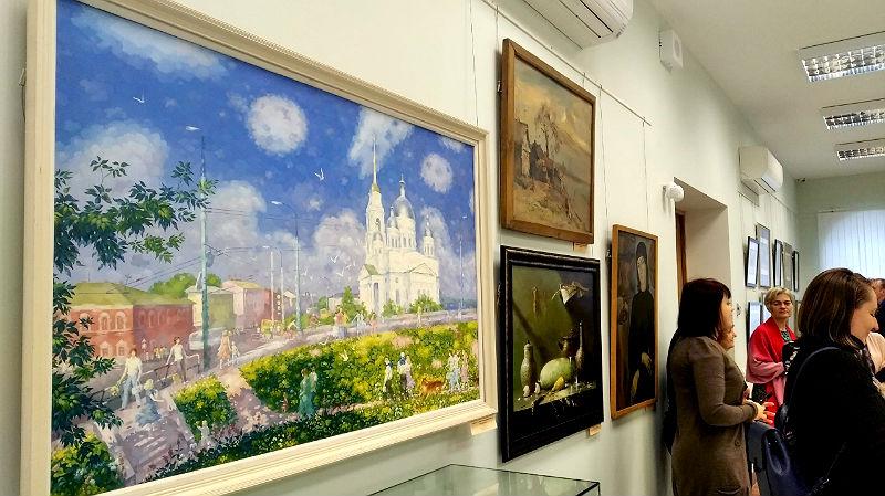 Открылась ретроспектива художников Рыбинска XX века