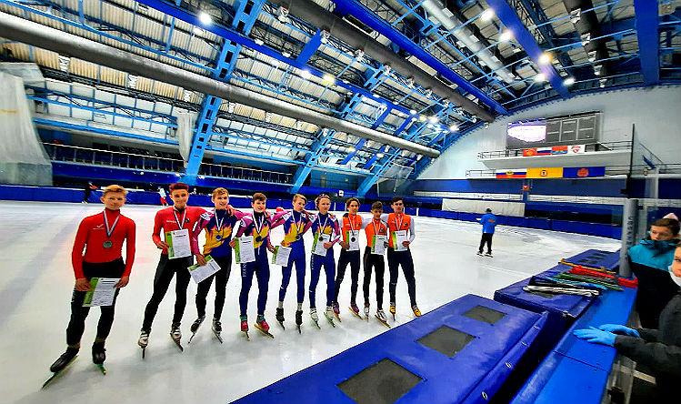 Три медали взяли шорт-трекисты Рыбинска