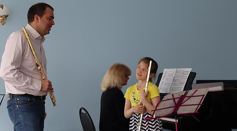 Рыбинские флейтисты прошли мастер-классы в центре Юрия Башмета