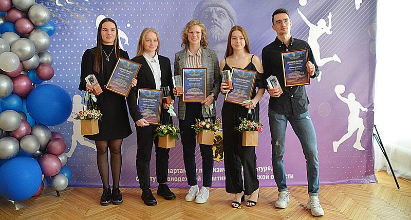 В Ярославле наградили рыбинских спортсменов
