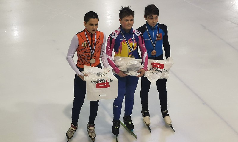 Шорт-трекисты Рыбинска — призеры всероссийских соревнований