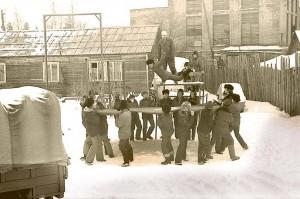 Отрабатка спортивного отделения парашютиста от самолета4