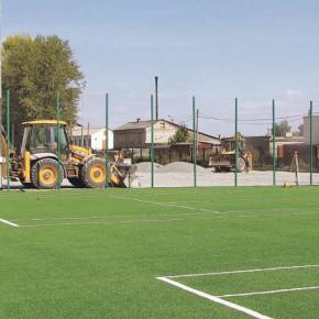 Школьный стадион открыт для всех