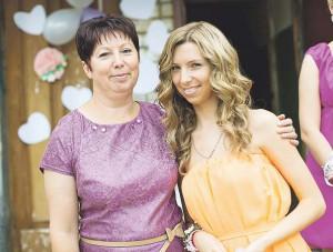 Света с мамой