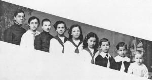 дети Ораевских примерно примерно 1916 год (1)_