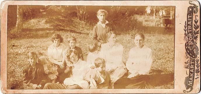 семья Ораевских 1921 год