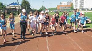 01_Открытый фестиваль ГТО «Команда будущих Чемпионов» - бег 1000 м старт