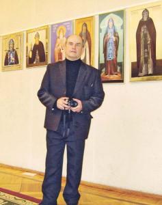 DSC02110_Рыбинский краевед Евгений Балагуров