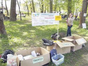 05_Раздельный сбор отходов в ходе акции Город-сад в Рыбинске