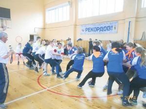 спортивный праздник Учителя-ученики