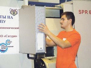 05_Илья Серебряков - победитель I регионального чемпионата WorldSkills Russia среди токарей