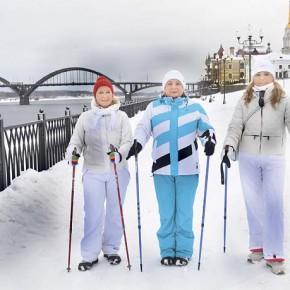 Скандинавская ходьба за здоровьем