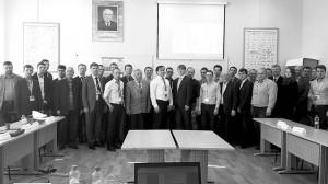 участники секции Компьютерный инжиниринг при проектировании авиационных двигателей