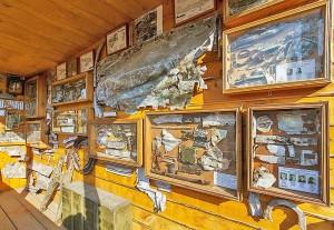 останки самолетов в частном музее Углича