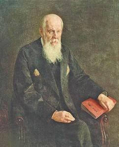 Солнцев Ф. Г. (живописный портрет кисти Полякова Е. И