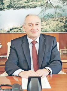 Поляков В.А. в кабинете - август 2015