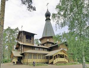 Казанский храм в с. Вырица.
