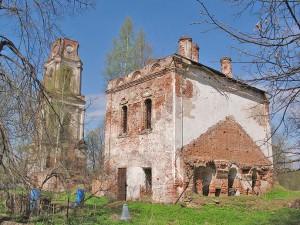 Никольльский храм в с. Спас-Ухра.