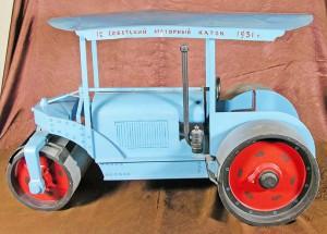 НВФ-1962  Модель дорожного катка_1