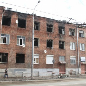 Пожар разрушил 12 квартир