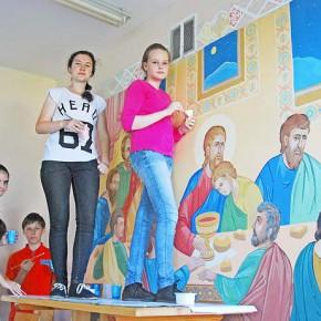 Православная роспись на стенах