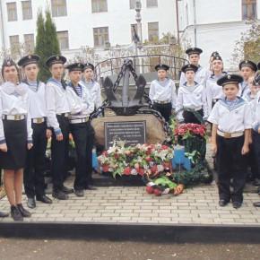 Многоборье для юных моряков