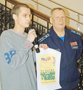 Валерий Кузнецов и Иван Уварин представили эскиз обложки альманаха