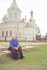У церкви Иверской иконы Божией Матери Рыбинск, 2005 г.