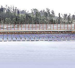 Строительство биатлонного центра в Демино началось