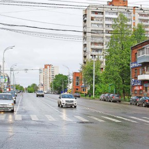 На улице Герцена откроют «зеленую волну»