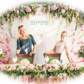 Свадебный вальс цветов