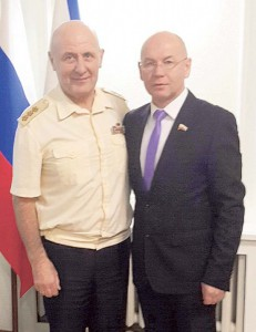 Николай Максимов и Владимир Беспалько