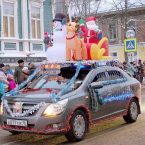 Новогодний автопарк набирает водителей