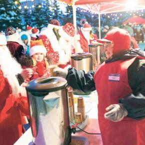 Горячая кухня Дедов Морозов