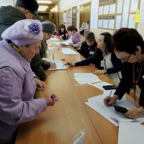Половина жителей Рыбинска уже сходила на выборы