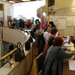 К 12 часам дня в Рыбинске проголосовало более четверти избирателей