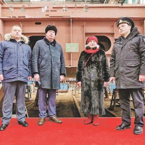 Общий праздник рыбинских судостроителей