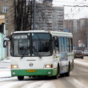 В Рыбинске действует бесплатный проезд в автобусах и маршрутных такси