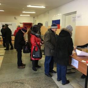 В Рыбинске на 10 утра проголосовали 7,3 % избирателей