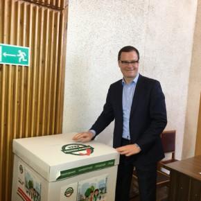 Максим Авдеев проголосовал в Рыбинске