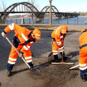 В Рыбинске начали «лечить» кариес дорог