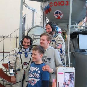 Рыбинские кванторианцы стали на минутку космонавтами