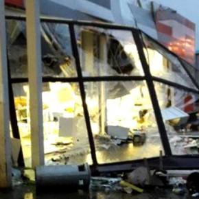 Причина разрушения магазина в Рыбинске – засор водостока