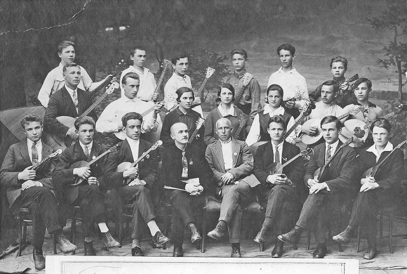 оркестр Павлова первый