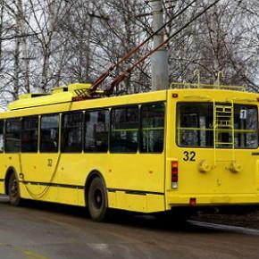 Троллейбусы в Рыбинске возобновили движение