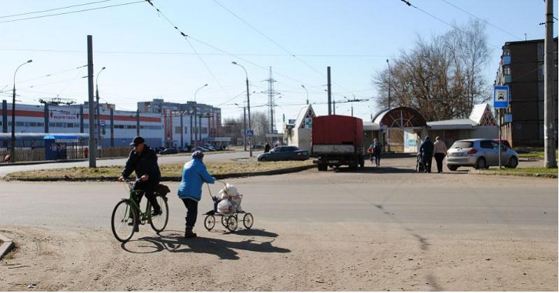 дорога в Рыбинске