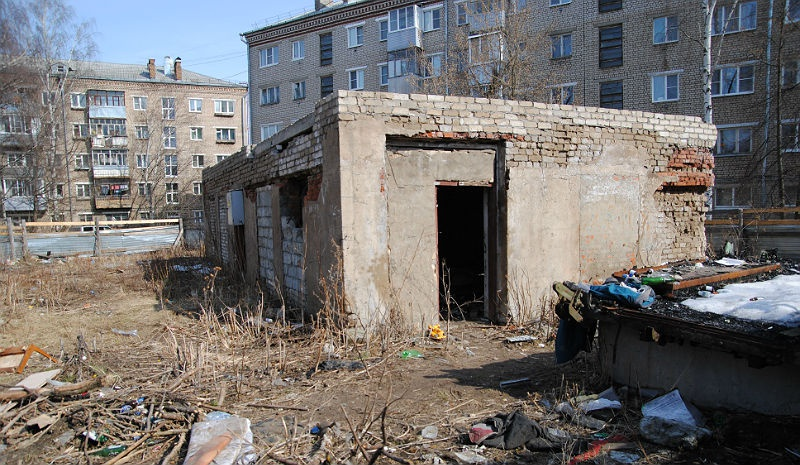разруха в Рыбинске