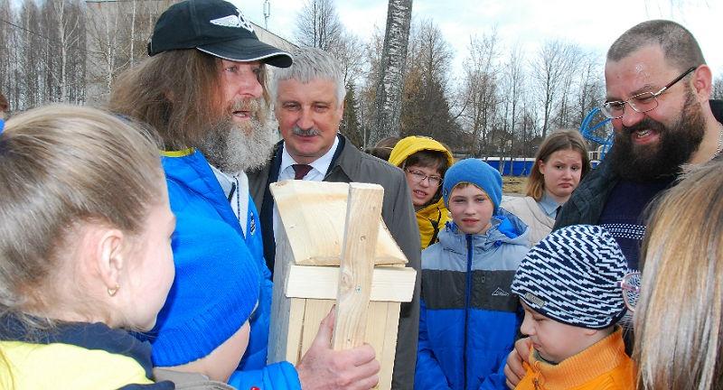 Федор Конюхов в Рыбинске
