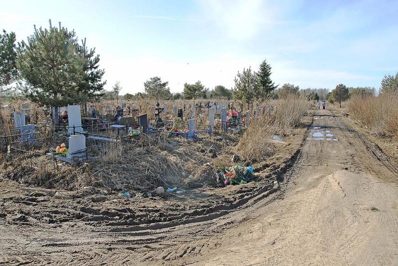 Рыбинск южное кладбище