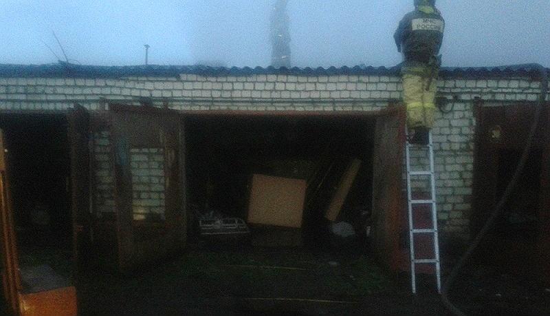 пожар в Рыбинске